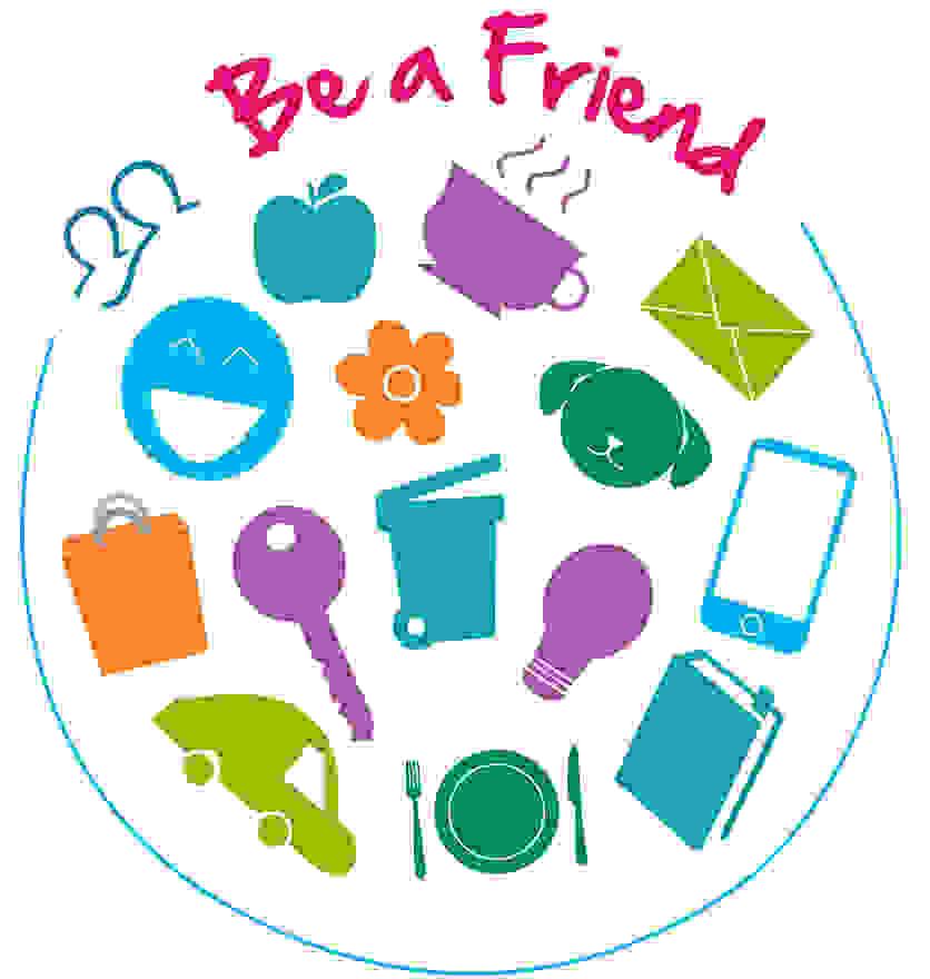 Be A Friend Logo