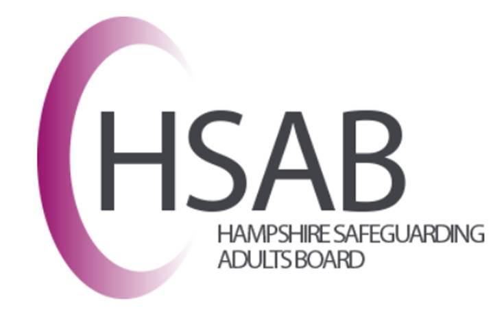 Hampshire Safeguarding Adults Board Logo
